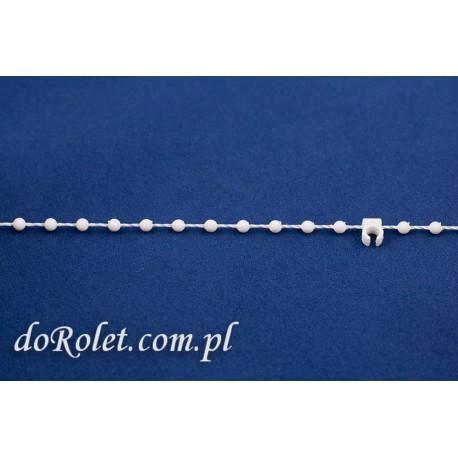Łańcuszek dolny 127 mm do żaluzji pionowych