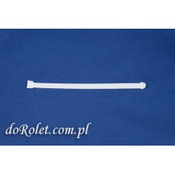Dystans do verticali, żaluzji pionowych. Długość 127 mm