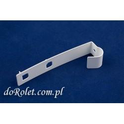 Zaczep metalowy przedłużany do rolety zwijanej