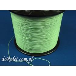 Sznurek 0,8 mm jasno-zielony