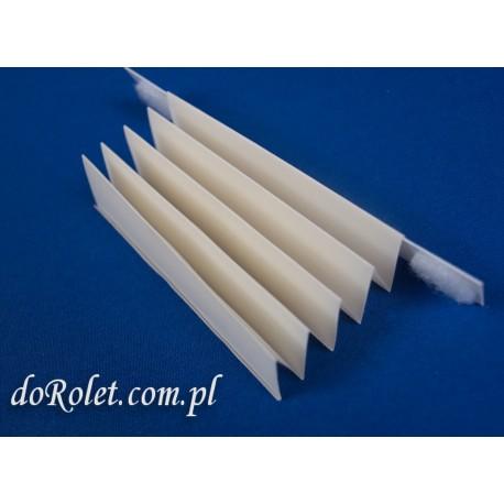 Tkanina do produkcji rolet plisowanych - Coral 101 kremowy