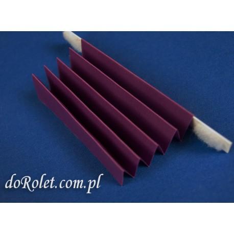 Tkanina do żaluzji plisowanych - Coral 104  fioletowy