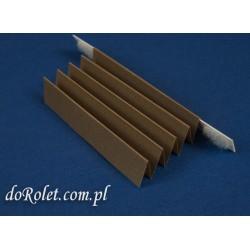 Tkanina do produkcji plis - Coral 114  brązowy