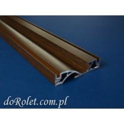 Profil poprzeczny aluminiowy - orzech