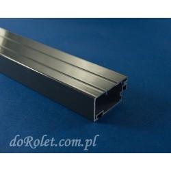 Profil aluminiowy do moskitier drzwiowych. Kolor antracyt