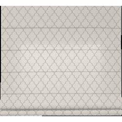 Tkanina do rolet rzymskich Maroko  jasno srebrny-1599