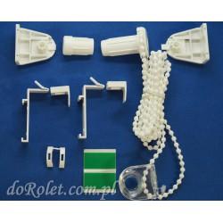 Pakiet montażowy fi 17 mm do rolety Besta mini