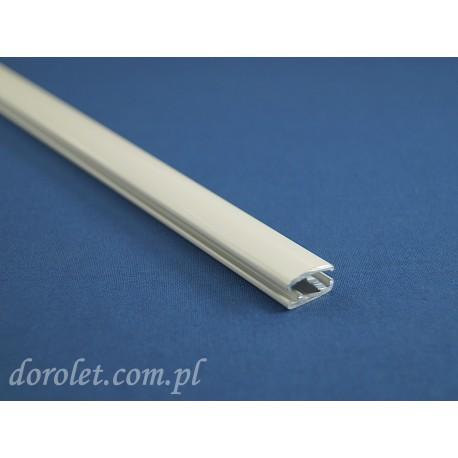 Belka obciążająca aluminiowa do rolet - biała