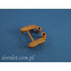 Zaślepki belki aluminiowej - obciążnika do rolet