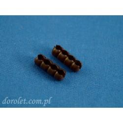 Łącznik do łańcuszka 3,2 mm - brąz