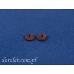 Ogranicznik łańcuszka rolety - brąz