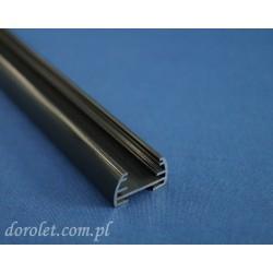 Profil aluminiowy do plis - antracyt
