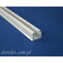 Szyna aluminiowa TS do karniszy sufitowych