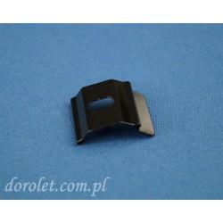 Uchwyt sufitowy Klips do szyny aluminiowej TS - czarny