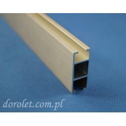 Szyna aluminiowa do karniszy, parawanów - inox