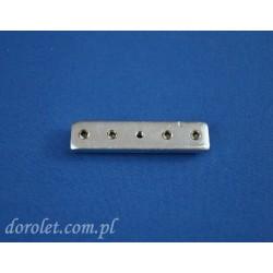 Łącznik szyny sufitowej Solid