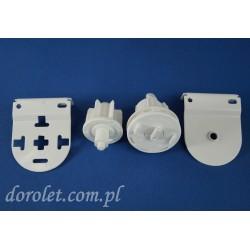 Pakiet montażowy fi 32 mm do rolet wolnowiszących - biały