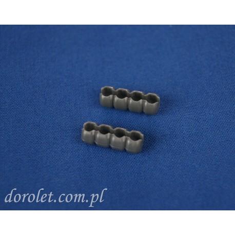 Łącznik do łańcuszka 3,0 -3,2 mm - szary