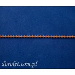 Łańcuszek kulkowy 4,5 mm - dąb