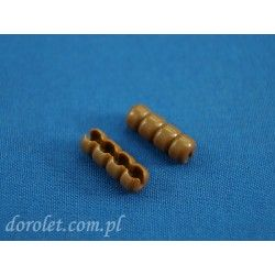 Łącznik do łańcuszka 3,2 mm - złoty dąb