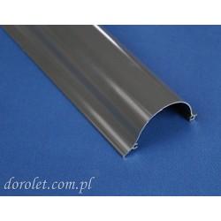 Kaseta aluminiowa do rolety Besta - szary