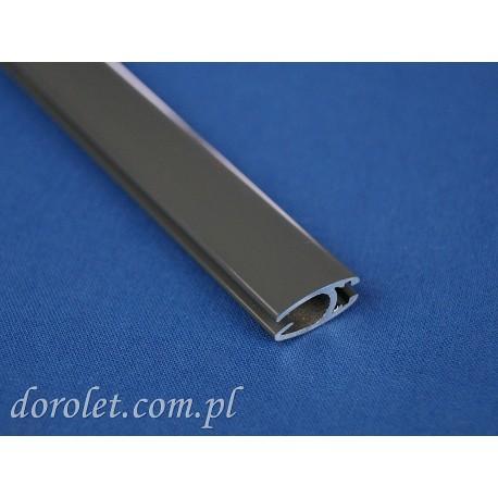 Belka obciążająca aluminiowa do rolet - szary