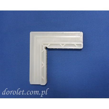 Narożnik poliamidowy wewnętrzny do moskitiery drzwiowej