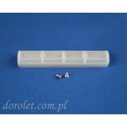 Łącznik pcv szyny sufitowej aluminiowej TS